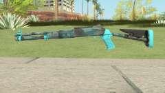 XM1014 Fractal Blue (CS:GO) for GTA San Andreas