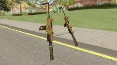 Micro SMG (Luxury Finish) GTA V Suppressor V4 for GTA San Andreas