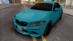 BMW M2 Competition 2018 SA Style for GTA San Andreas