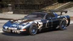 Chevrolet Corvette Z06 ST PJ3 for GTA 4