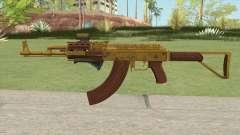 Assault Rifle GTA V (Three Attachments V9) for GTA San Andreas