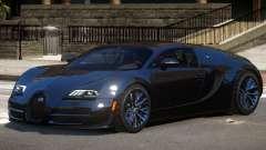 Bugatti Veyron 16.4 GT Black Edition for GTA 4