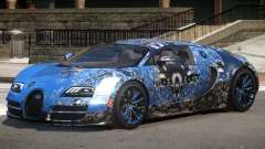 Bugatti Veyron 16.4 GT PJ4 for GTA 4