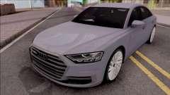 Audi A8 2018 Grey