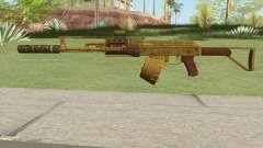 Assault Rifle GTA V (Three Attachments V10) for GTA San Andreas