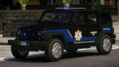 Jeep Wrangler Police V1.0 for GTA 4