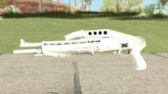 Combat Shotgun (White) for GTA San Andreas