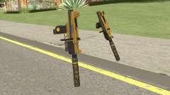 Micro SMG (Luxury Finish) GTA V Two Upgrades V5 for GTA San Andreas