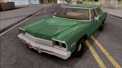 Dodge Monaco 1974 Green for GTA San Andreas