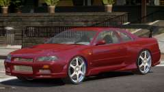 Nissan Skyline GT-R34 RS for GTA 4