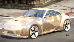 Nissan 350Z GT V1.0 PJ2 for GTA 4