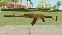 Assault Rifle GTA V (Two Attachments V9) for GTA San Andreas