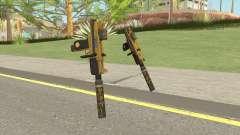 Micro SMG (Luxury Finish) GTA V Two Upgrades V3 for GTA San Andreas