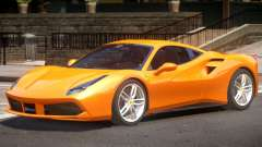 Ferrari 488 Improved for GTA 4
