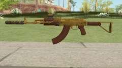 Assault Rifle GTA V (Three Attachments V12) for GTA San Andreas