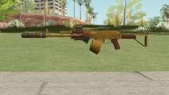 Assault Rifle GTA V (Three Attachments V4) for GTA San Andreas