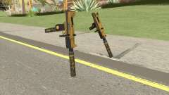Micro SMG (Luxury Finish) GTA V Suppressor V2 for GTA San Andreas