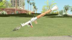 Rocket Launcher (White) for GTA San Andreas