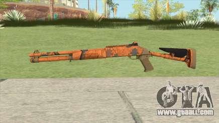 XM1014 Hunter Blaze Orange (CS:GO) for GTA San Andreas