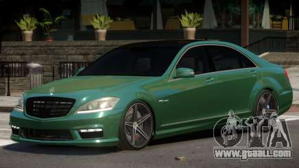 Mercedes Benz S65 Tuned for GTA 4