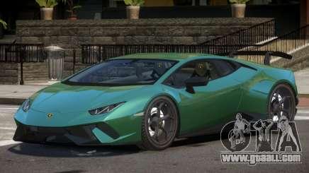 Lamborghini Huracan RS for GTA 4