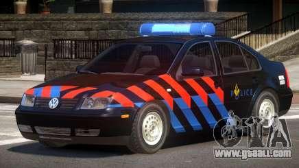 Volkswagen Bora Police V1.0 for GTA 4