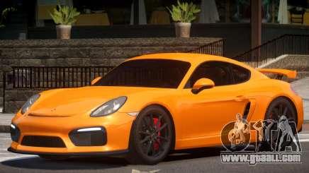 Porsche Cayman GT4 V1.3 for GTA 4