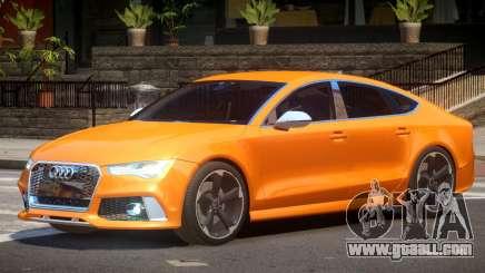 Audi RS7 V1.0 for GTA 4