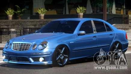 Mercedes Benz E63 W211 V1.1 for GTA 4