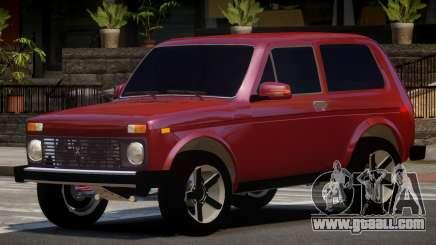 Lada Niva 4x4 V1.0 for GTA 4
