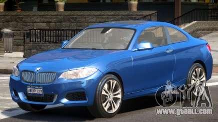 BMW M235i V1.0 for GTA 4