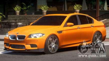 BMW M5 F10 Tuned V1.1 for GTA 4