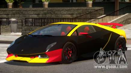 Lamborghini Sesto GT V1.0 PJ1 for GTA 4
