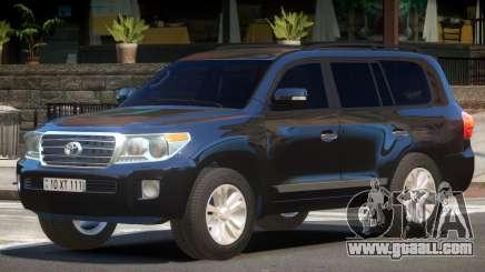 Toyota Land Cruiser 200 ST for GTA 4
