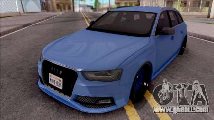 Audi RS4 Avant 2013 Tuned for GTA San Andreas