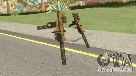 Micro SMG (Luxury Finish) GTA V Full Upgrade V1 for GTA San Andreas