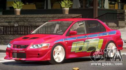 Mitsubishi Lancer Evolution 7 V1.0 for GTA 4