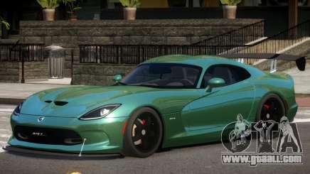 Dodge Viper GTS V1.1 for GTA 4