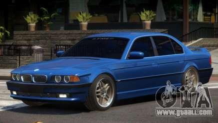 BMW 750i V1.0 for GTA 4