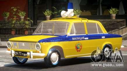 VAZ 2101 Police for GTA 4