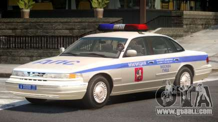 Ford Crown Victoria Police V1.0 for GTA 4