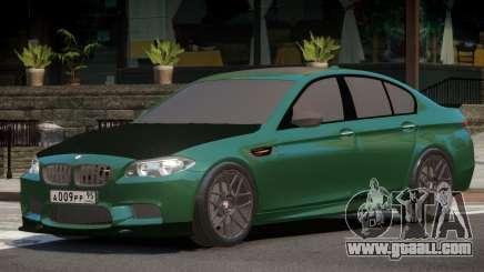 BMW M5 F10 Tuned V1.0 for GTA 4