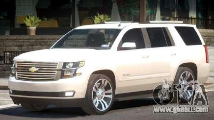 Chevrolet Tahoe Elite for GTA 4