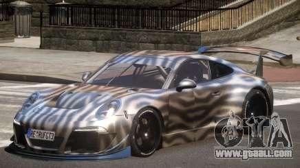 Porsche 911 GT-3 V1.0 PJ4 for GTA 4