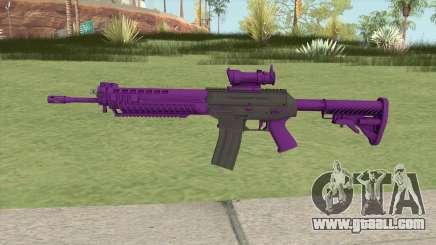 SG-553 Purple (CS:GO) for GTA San Andreas