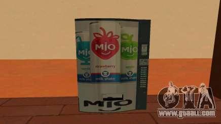 Mio Russia Vending Machine for GTA San Andreas