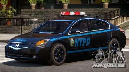 Nissan Altima Police V1.0 for GTA 4