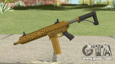 Carbine Rifle GTA V (Luxury Finish) Base V3 for GTA San Andreas