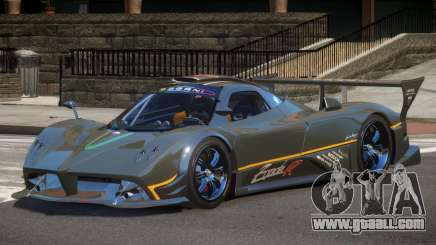 Pagani Zonda RS PJ1 for GTA 4
