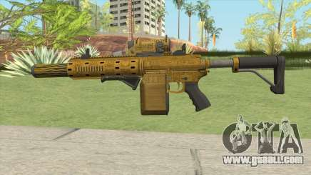 Carbine Rifle GTA V (Luxury Finish) Full V1 for GTA San Andreas